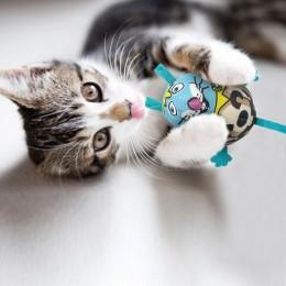 Zabawka dla kota z kocimiętką i dźwiękiem MYSZ myszka