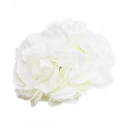 Duża BIAŁA hortensja wyrobowa główka kwiat sztuczny sklep internetowy