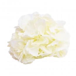 ECRU hortensja wyrobowa duża główka kwiat sztuczny