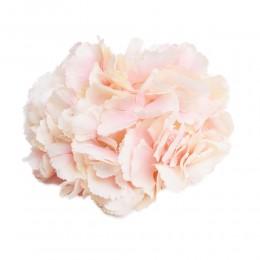 MORELOWA hortensja wyrobowa główka duża kwiat sztuczny