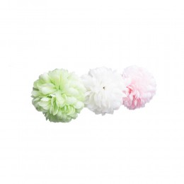 Średnia kula kwiat sztuczny pompon płatki kwiatów dekoracja ślubna