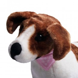 Obroża z chustą bandamką i dzwoneczkiem dla małego psa kota 30 cm