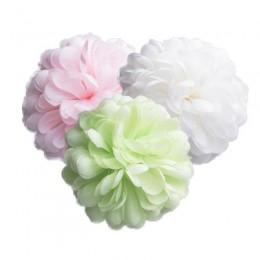 Duża kula kwiat sztuczny pompon płatki kwiatów dekoracja ślubna